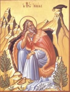 Elijah fed by a raven