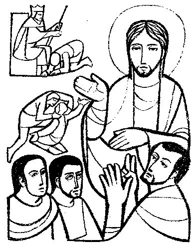 Jesus invites us to a life of reconciliation with God and with each other