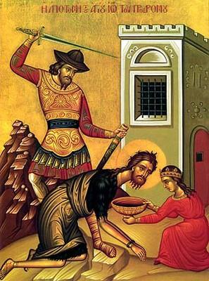 beheading of john