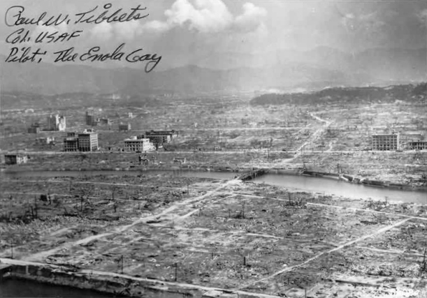 Devastated Hiroshima After the Bomb