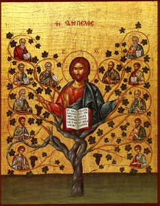 Christ, the True Vine and Tree of Life (click to enlarge)