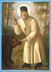 St Seraphim with Bearhr