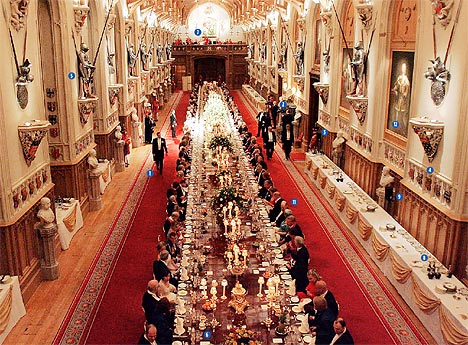 A great banquet hall, but still not big enough for all God's people.