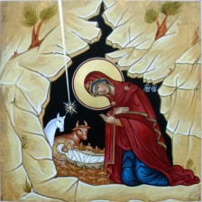 Nativity Icon (click to enlarge)
