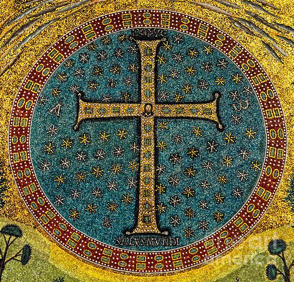 Mosaic Cross at San Apollinare Nuovo in Ravenna