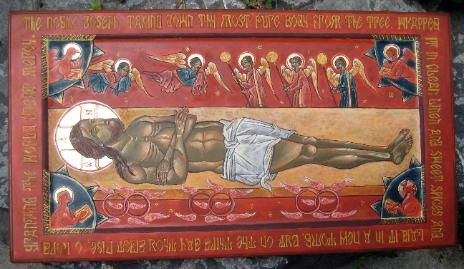 The Epitaphios Icon of Holy and Great Friday (betsyporter.com)
