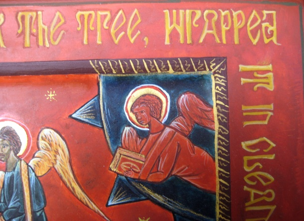 Detail of the Epitaphios Icon (betsyporter.com)