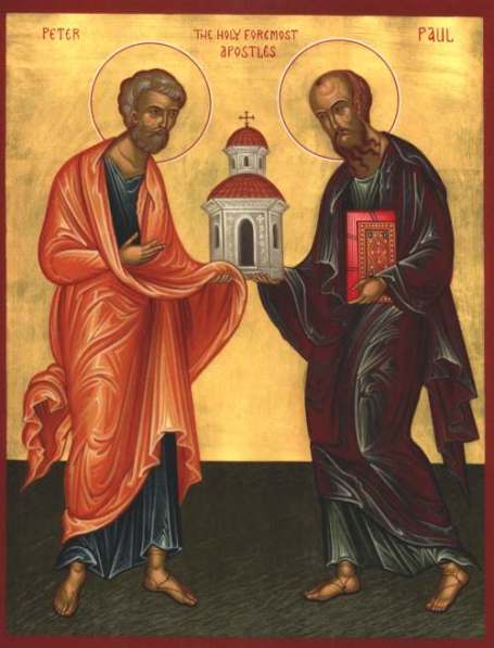 Image result for ss. peter and paul