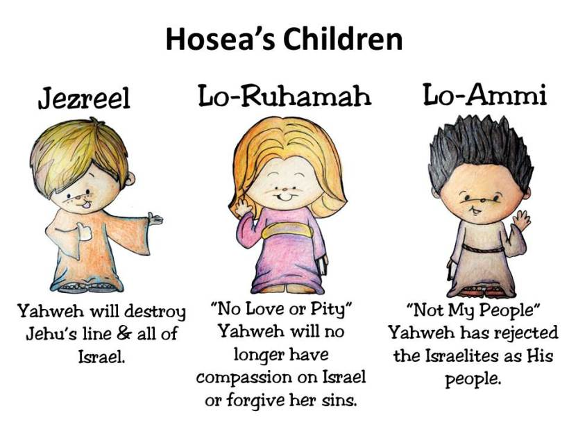 hoseas-children