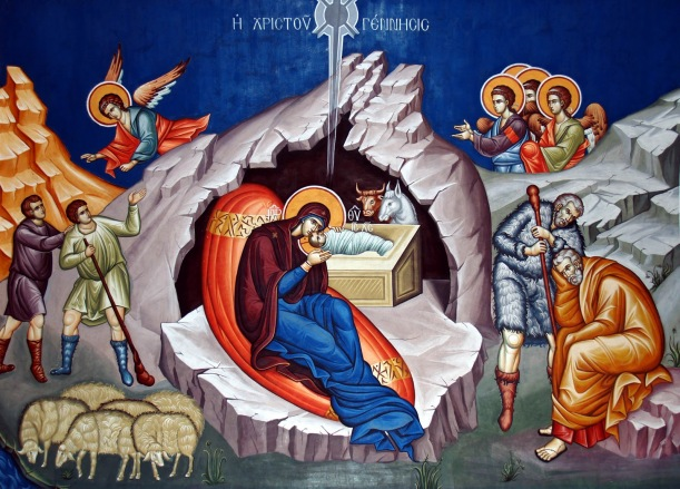 The Christmas icon (click to enlarge)