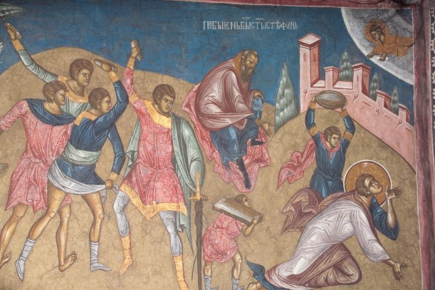 The Martyrdom of Stephen