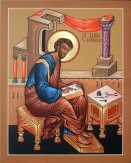 Luke, the writer of a Gospel (click to enlarge)