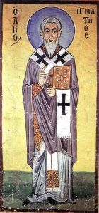 Saint Ignatius of Antioch, one of the so-called Apostolic Fathers.