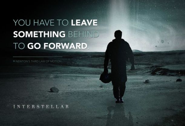 Something almost theological about this quote from the movie Interstellar.