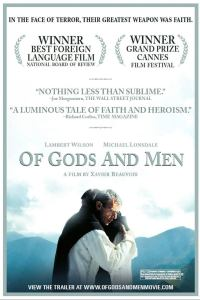 Poster for the film Of Gods and Men (click to enlarge)