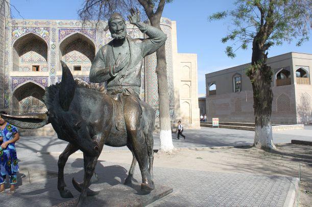 Statue of Mullah Nasruddin